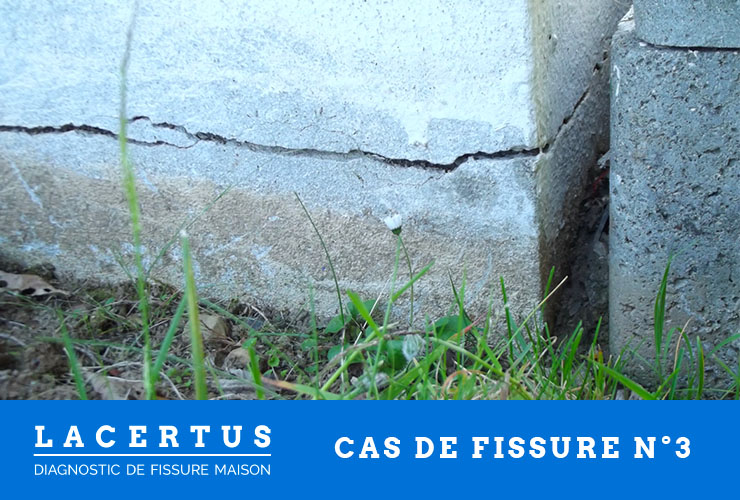 diagnostic de fissure sur un mur en parpaing